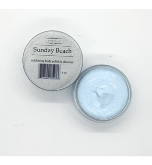 2oz body polish - Sunday beach