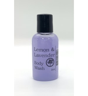 2oz body wash - lemon lavender