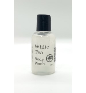 2oz body wash - white tea