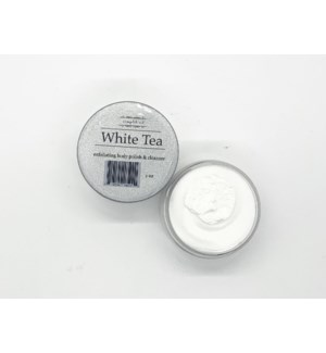 2oz body polish - white tea