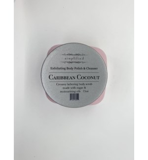 15 oz body polish - car coconut