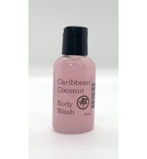 2oz body wash - caribbean coconut