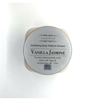 15 oz body polish - vanilla jasmine