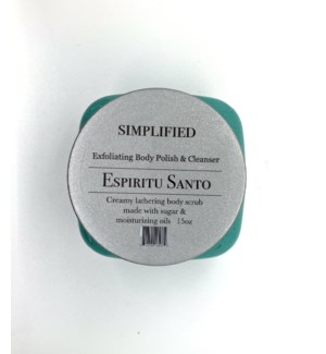 15 oz body polish -espiritu santo