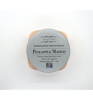 15 oz body polish - pineapple mango (Sold May - Aug.)