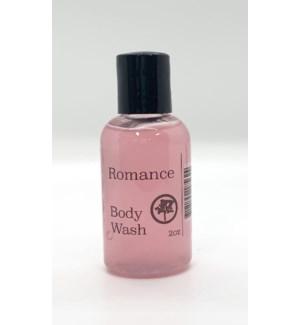 2oz body wash - romance