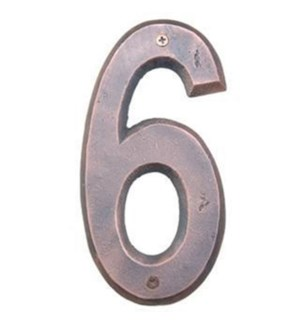 ***Rustic House Number 6-Coppe
