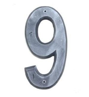 ***Rustic House Number 9-Nicke
