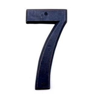 ***Rustic House Number 7-Dark