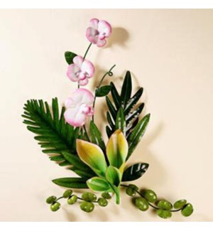 ***Tropical Foliage w/Orchids