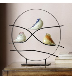 AG Bird Trio Desk Decor