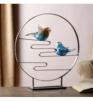 AG Bird Pair Desk Decor