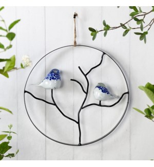 AG Bird Pair Wall Hanging