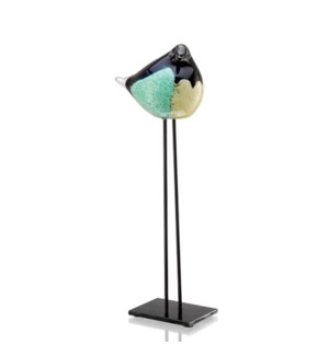 AG Green and Black Bird Desk D