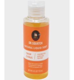 Crisp Citrus Liquid Soap (4oz)