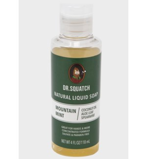 Mountain Mint Liquid Soap (4oz)
