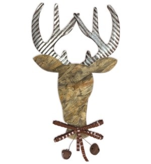 "21"" Reindeer Wall Decor"