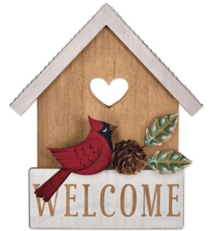 """""""Welcome"""" Cardinal House Tabletop"""