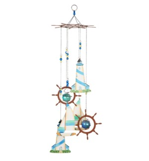 "24"" Sailboat Wind Chime"