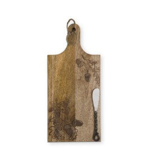 ACORN BOARD & SPREADER SET