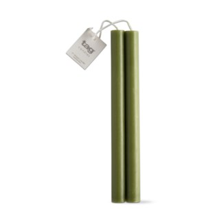 "10"" STRAIGHT CANDLES SET/2 OLIVE"