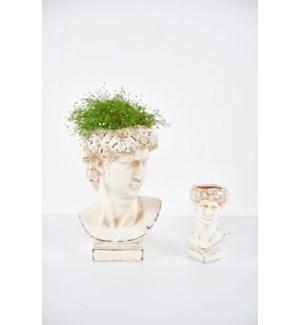 "10"" Bust Planter / Vase"