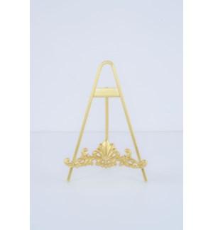 """10"""" Gold Ornate Easel"""