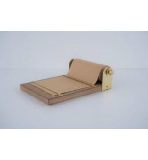 """10"""" Wood/Metal Note Roll, Tabletop"""