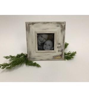 "10"" Wood Frame, Oh Holy Night, Copyright Tawnya Norton"