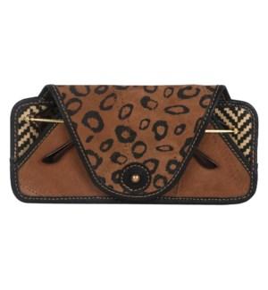 Cheetah Eyeglass Case