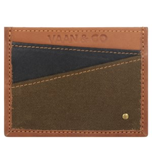 Brad Double Sided Card Wallet