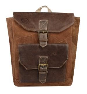 Dapper Brown Backpack