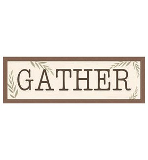 *** DISCONTINUED *** HG GATHER - 8X24 FARMHOUSE FRAME