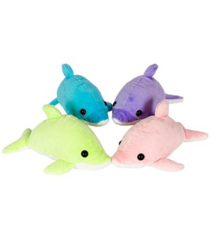 """10"""" Dolphin Bright Color, 4 Asst"""