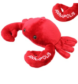 """10"""" Crab ANNAPOLIS embroidery"""