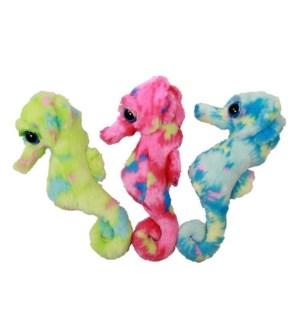 """10"""" ConfettiSoft Seahorse, 3 Asst. (P12)"""