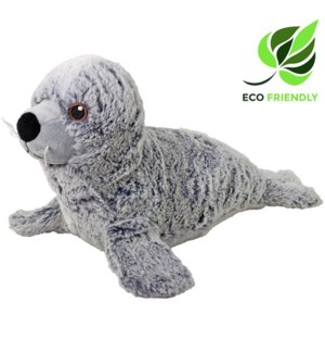 "13"" Gray Seal, Eco-Friendly"
