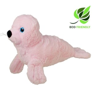 "13"" Pink Seal, Eco-Friendly"