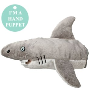 "10"" Shark Head Puppet"
