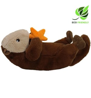 "13"" Floating Sea Otter, Eco-Friendly"