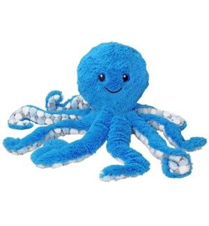 "9"" SoftDots Blue Plush Octopus"