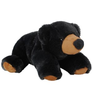 "10"" Floppy Black Bear"