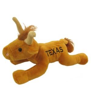 """10"""" Floppy Longhorn Steer TEXAS"""