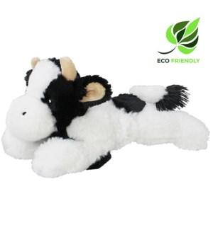 """10"""" Floppy Cow, Black & White, Eco-Friendly"""