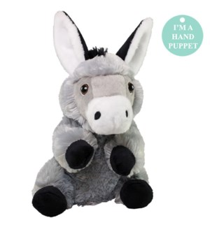 """10"""" Donkey Hand SuperSoft Puppet"""