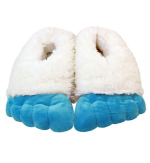 "10"" Abominable Snowman Yeti Feet, Youth"