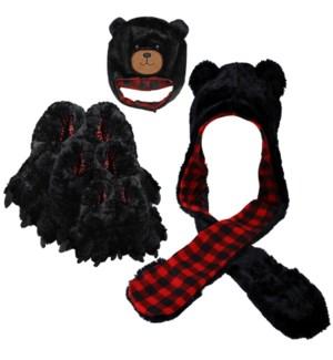 $365 Black Bear Accessories Bundle, 48 pcs