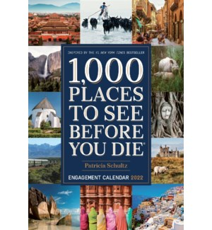 1,000 Places to See Before You Die Engagement 2022(F)