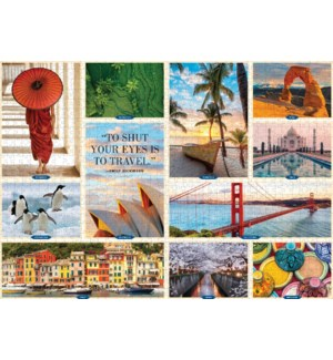 1,000 Places to See Before You Die 1,000-Piece Puzzle