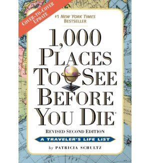 1,000 PLACES SEE BEFORE YOU DIE-REV.ED.